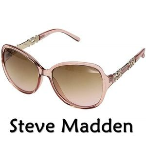 "Steve Madden ""Pink"" Fashion Sunglasses NEW"